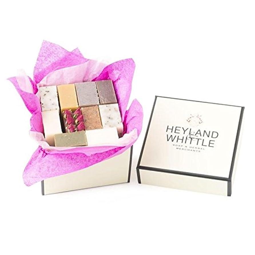 交渉する腹ベアリングサークルHeyland & Whittle Soap Gift Box, Small (Pack of 6) - 小さな&削るソープギフトボックス、 x6 [並行輸入品]