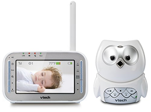 VTech VM345 Owl Video Baby Monitor with Automatic Infrared Night Vision,...