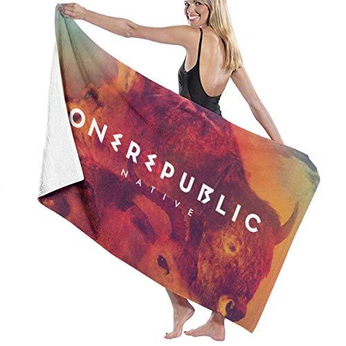 Ewtretr Toallas de baño OneRepublic Large Soft Bed Toalla de Playa Juego de baño de baño Accesorios de baño