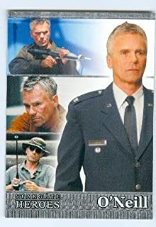 stargate heroes trading cards
