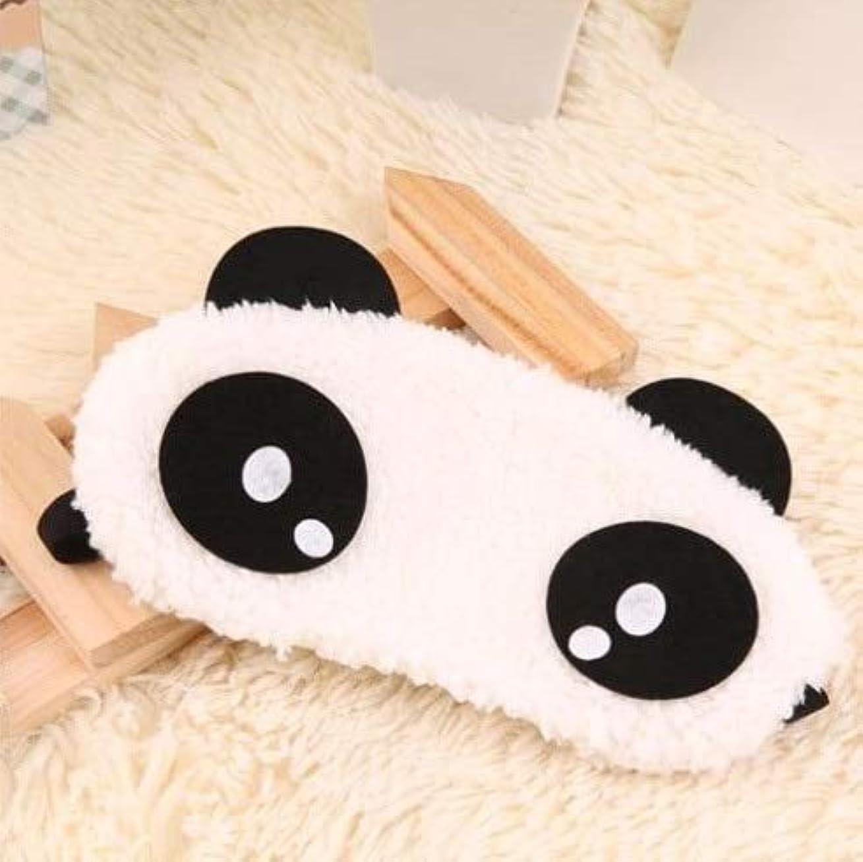 混合した毒液容器NOTE かわいいパンダ睡眠フェイスアイマスク目隠しアイシェード旅行睡眠アイエイドドロップシッピング