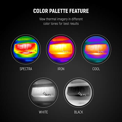 『PerfectPrime IR0018, 35200 画素の赤外線熱画像 可視光カメラ 熱画像キャプチャー頻度 9HZ』の3枚目の画像
