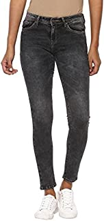 AMERICAN CREW Women's Slim Fit Stretchable Jeans