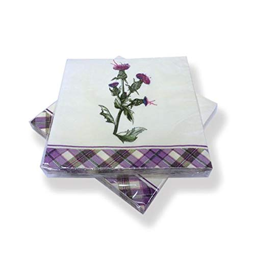 Wild Thistle Paper Napkins - pack of 20