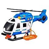 Teamsterz 1416393 Helicóptero de Rescate con Luz y Sonidos, 42 cm