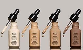 NYX Total Control Drop Foundation Liquid Texture Foundation 13 ml. #TCDF06 : Vanilla