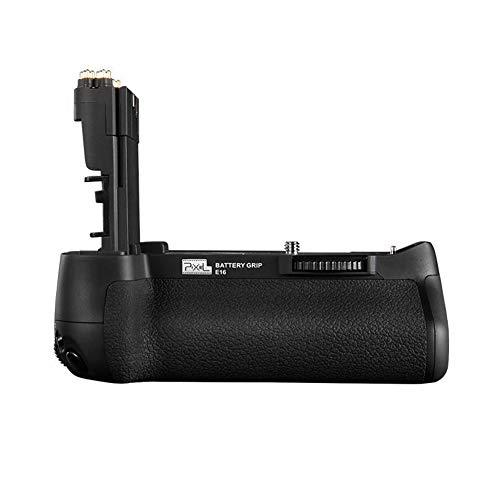 Pixel BG-E16 Batería Empuñaduras para Canon EOS 7D Mark II cámara Digital SLR Cámara Cuerpo de la cámara Compatible con 2 baterías de LP-E6 / LP-E6N (reemplazo para Canon BG-E16)