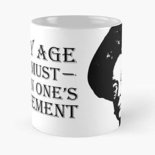 Meme Growing Downton Funny Dowager Older Duchess Abbey Birthday Downtown Best Taza de café de cerámica de 325 ml