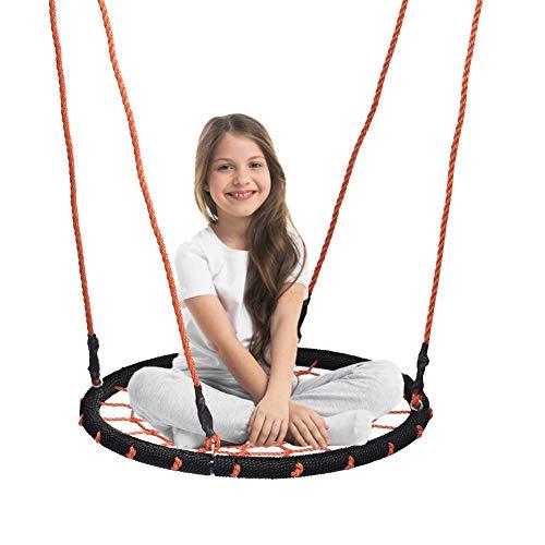 Exuberanter Nestschaukel, Runde Hängeschaukel, Tellerschaukel Für Kinder, Tragend 100 KG, Ø 60 cm