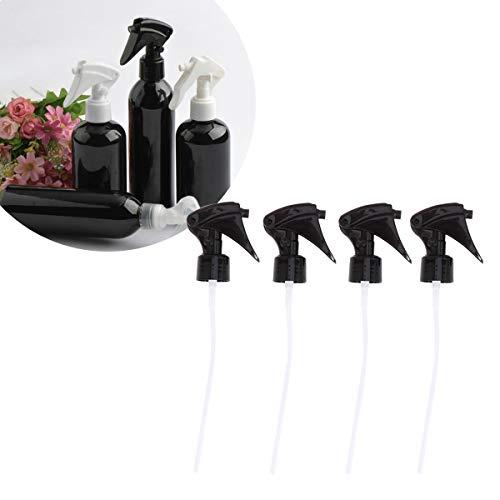 Frcolor 8pcs buse de pulvérisateur en plastique buse de remplacement pour pulvérisateurs industriels pour salon (noir)