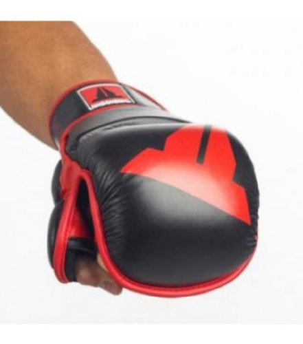 Throwdown MMA Trainingshandschuh, Schwarz, Herren, schwarz, Medium