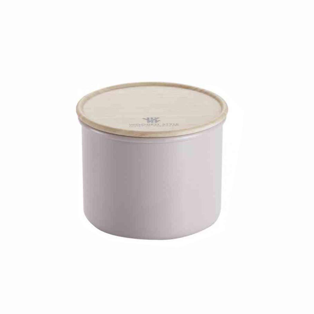 3pc Canister Set Round Metal Tin Box Couvercle Café Thé Sucre Pot De Rangement Cuisine