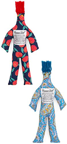 Dammit Doll - Dammit Duo - Set of Two Random Stress Relief - Gag Gift