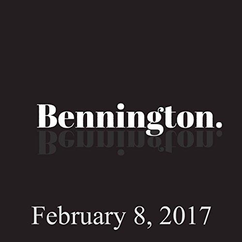 Bennington, February 8, 2017 audiobook cover art