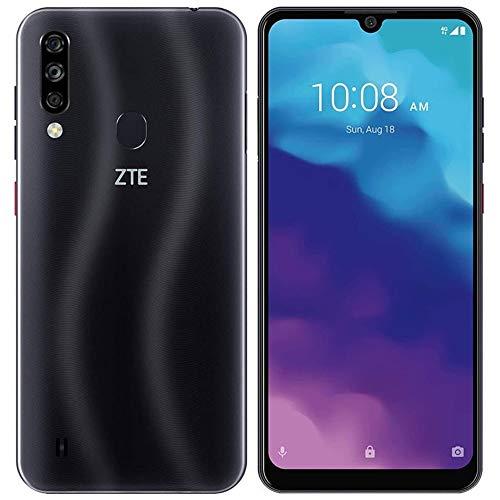 "ZTE Blade A7 2020 (64GB, 2GB) 6.09"", 16MP Triple Camera, 4000mAh Battery, Face Unlock, Octa-core, Dual SIM GSM Unlocked US 4G LTE (T-Mobile, AT&T, Metro, Straight Talk) International Model (Black)"