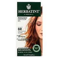 Herbatint Permanent Herbal Haircolour Gel 8R Light Copper Blonde -- 135 mL by Herbatint [並行輸入品]