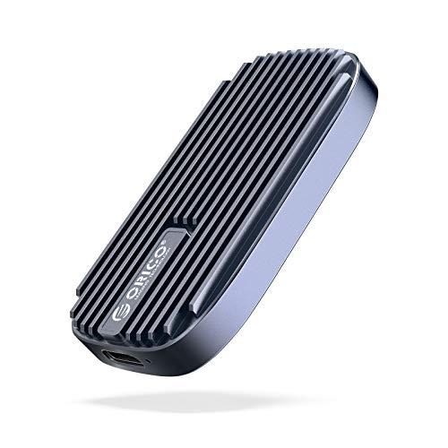 ORICO SSD 240G Externe Festplatte Portable sata Solid State Drive bis zu 520MB/s USB-C USB 3.1 Gen2 Port Festplatte für PC/Laptop/Mac/Android/Xbox/PS4/Router-CN210 Shadow