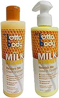 Lotta Body With Milk Honey Nourish Combo Set (LV-IN-COND&SHAMPOO)