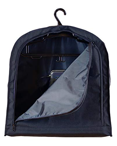Odor Crusher Ozone Armor Clean Tactical Hanging Garment Bag - Removes Odor and Bacteria from Armor Vests, Boots, Tactical Gear, Duty Belt and Body Armor - Features our Compact Portable Ozone Generator