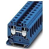 Phoenix 3044209 - Borna universal ut 16bu con conexión tornillo azul