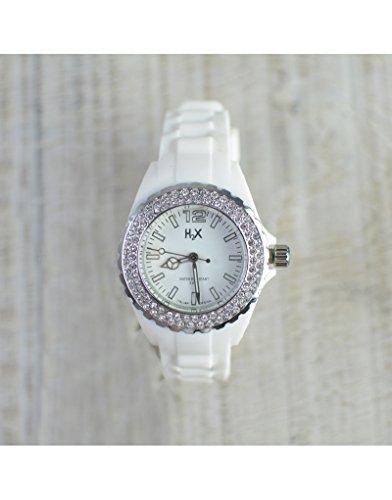 Horloge wit H2X dames Stone Lady huis en meer