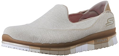 Skechers Damen Go Flex-Stride Walking-Schuh, Taupe, 35 EU