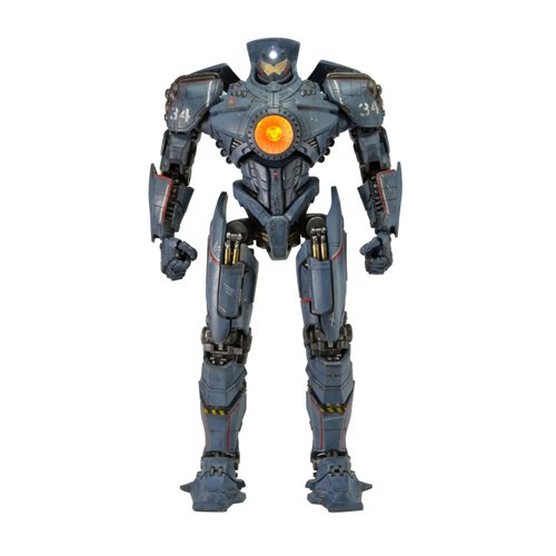 NECA Pacific Rim Jaeger Gipsy Danger 18' Action Figure with LEDs (1/4 Scale)