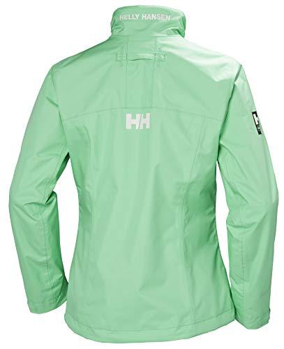Helly-Hansen Crew Midlayer Fleece Lined Waterproof Windproof Breathable Rain Coat Jacket