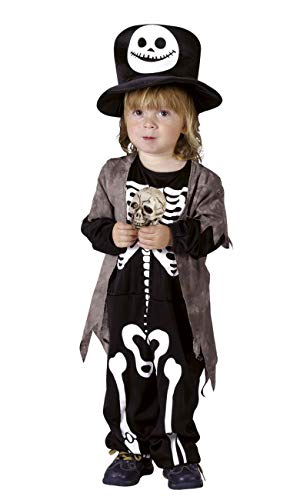 Boland- Déguisement-Costume Garçon Squelette, 10134219, 3/4 Ans