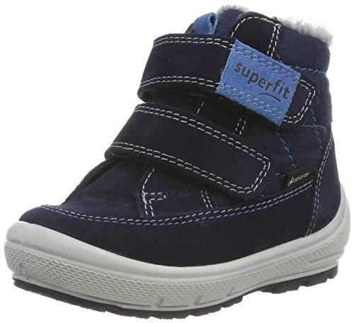 Superfit Jungen Groovy Gore-tex 509314 Schneestiefel, Blau (Blau 80), 25 EU