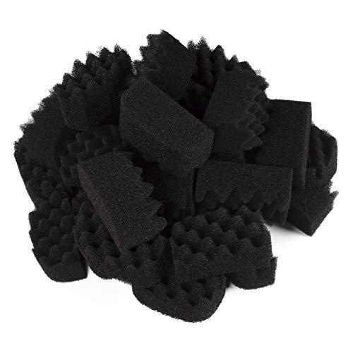LTWHOME Compatible Bio-Mousseux Filtration Tapis Convient pour Fluval 104 105 106 204 205 206(Paquet de 50