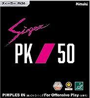 ニッタク(Nittaku) 卓球 ラバー ズィーガー PK50 裏ソフト テンション レッド 厚 NR8728