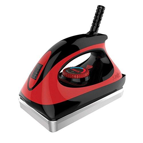 Swix DIGITAL Ski & Snowboard Wax IRON - Red - 18mm Base Plate -...