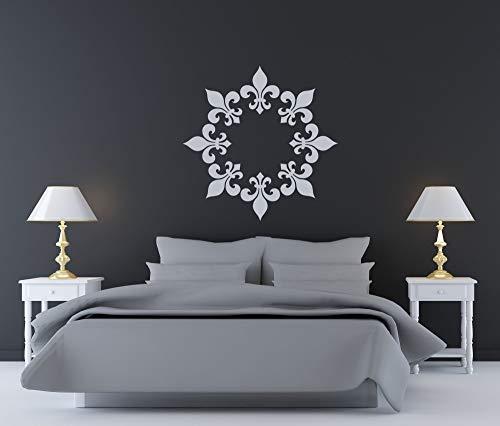 Vinilo decorativo para pared, diseño de medallón de techo, decoración de boda, decoración de Mardi Gras, regalo de fiesta de cumpleaños, decoración para el hogar