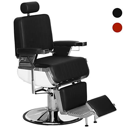 BarberPub Heavy Duty Metal Vintage Barber Chair All Purpose Hydraulic Recline Salon Beauty Spa Shampoo Equipment 3823