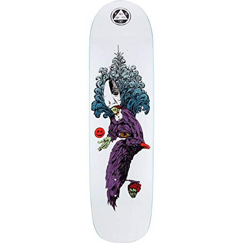 Welcome Skateboard Deck Tonight I'm Yours, Größe:8.375, Farben:White