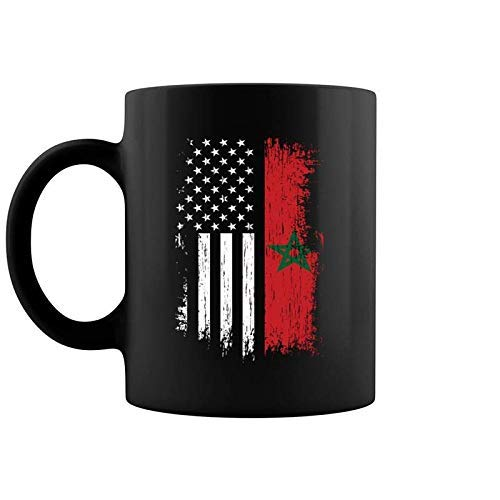 N\A Maurische amerikanische Flagge und ndash; Stolz Marokko USA Kaffeetasse