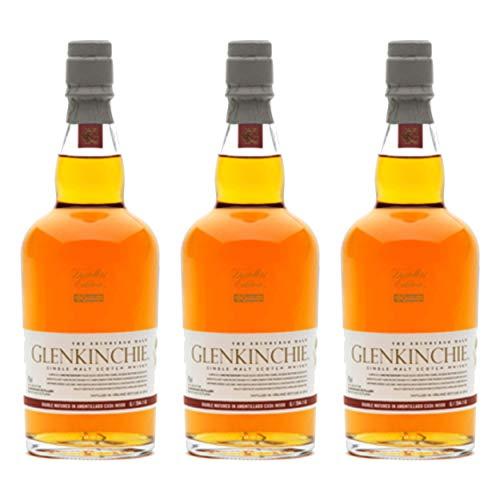 Glenkinchie 12 Years/Jahre, 3er, Single Malt, Whisky, Scotch, Alkohol, Alokoholgetränk, Flasche, 43%, 200 ml, 605317