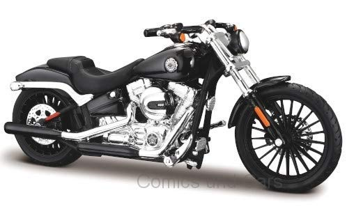 Maisto 39360-16944 Harley Davidson Motorcycles Breakout, nero, 2016, scala 1:18