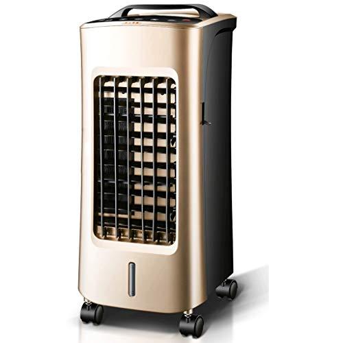 Climatiseur ventilateur chauffage et refroidissement télécommande à double usage, refroidisseur d'air à économie d'énergie Climatiseur domestique de petite taille