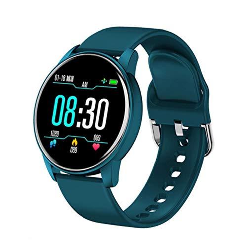 Inteligente Venda de Reloj del Reloj del perseguidor de Reloj de Pulsera Inteligente ZL01 Inteligente Pulsera de Actividad del Deporte del perseguidor del Ritmo cardíaco Watchfor Hombres Mujeres Azul