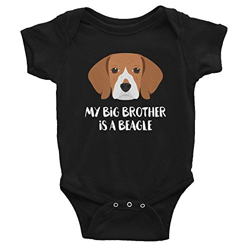Promini Funny My Big Brother Sister is a Beagle - Body para bebé
