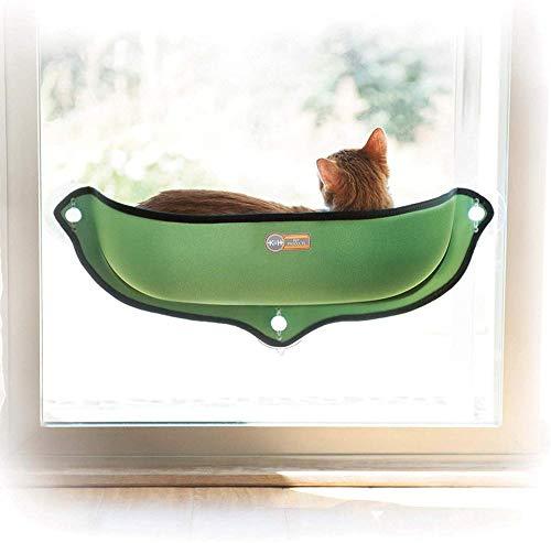 N/ Produkte Für Hunde Oder Katzen Befestigen Die Fensterbänke An Fast Allen Glasfenstern Oder -Türen In Grün (27 X 11 X 6 Zoll)