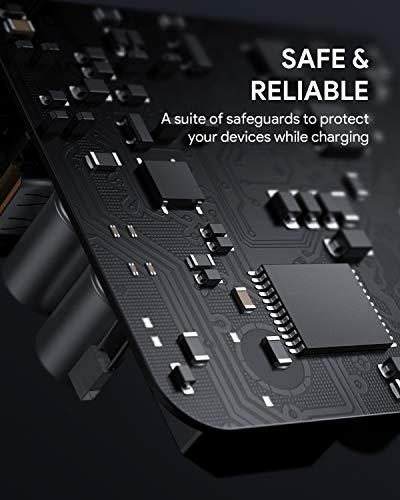 AUKEY USB C Ladegerät 36W mit Power Delivery 3.0, 2-Port Wandladegerät für iPhone 12, Type-c Ladegerät für iPhone SE, Samsung S10, Google Pixel 3 XL, Xiaomi, MacBook Air, Airpods Pro, Switch