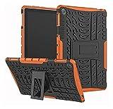 ZRH Accesorios de la pestaña para Huawei MediApad M5 Lite 1010.1'Tablet Portada a Prueba de Golpes para Huawei MediApad M5 Lite 10 (Color : Orange)