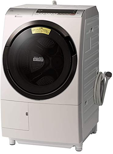 日立 ドラム式洗濯乾燥機 ビッグドラム 洗濯11kg 右開き 日本製 液体洗剤・柔軟剤自動投入 BD-SX110CR N ロゼシャンパン