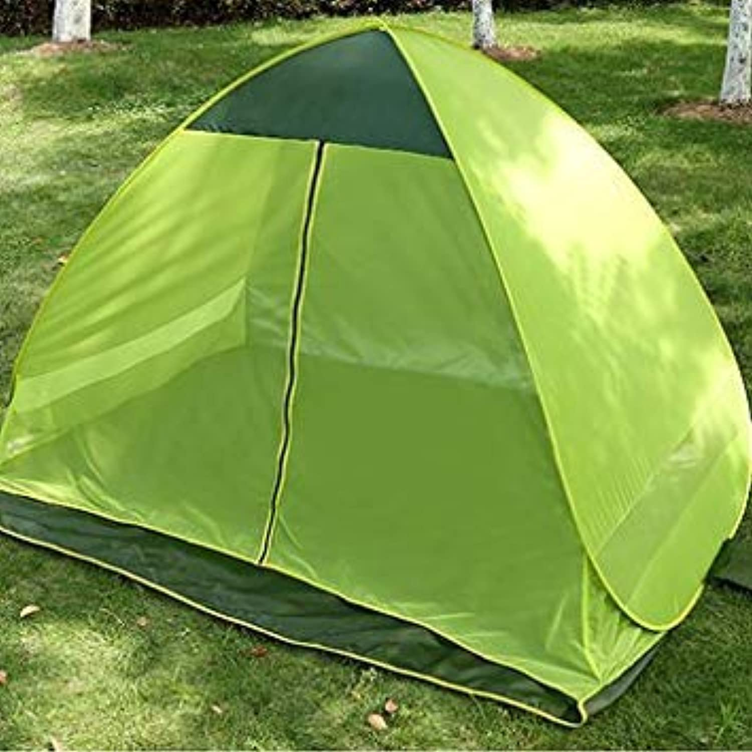 Outdoor 3-4 Persons Waterproof Tent Quick Open Canopy UV Sun Shelter for Camping Hiking