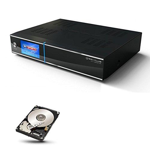 GigaBlue UHD Quad 4K SAT TV Linux Receiver 2X DVB-S2 FBC Twin Tuner Pip CI SmartCard PVR Streaming SAT>IP Webif APP Ultra HD + 2TB Festplatte SATA ST2000LM007 intern Bulk HDD