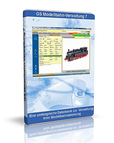 GS Modellbahn-Verwaltung - Software zur Verwaltung Ihrer Modellbahnsammlung - Datenbank Programm zur Verwaltung von Modellbahnen