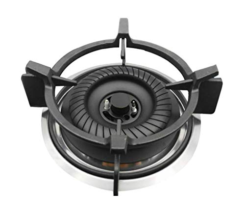 Wok Ring for Gas Stove, Cast Iron Wok Ring - Wok Support Ring, Pan Holder Stand, Gas Cooktop Cast Iron Stove Rack Trivets Wok Support Ring, Gas Stove Accessories, Grooves on the Bottom